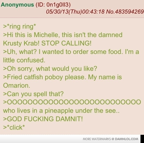 Anon Shares His Story About Prank Calling A Restaurant During A 4chan Raid