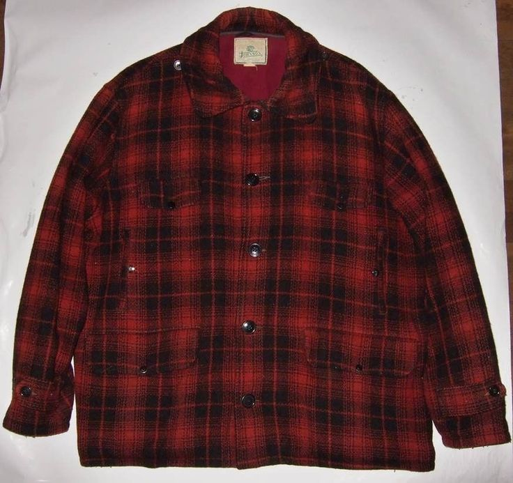 Red Plaid Shirt Mens