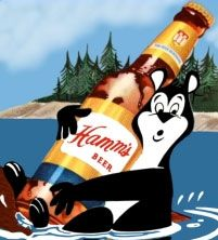 Hamm's Beer Bear