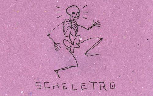 Italian Language ~  Scheletro (skeleton)