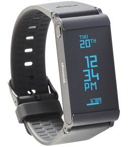 Withings Pulse O2 monitor is a versatile wearable tracker that can be worn on different parts of the body.