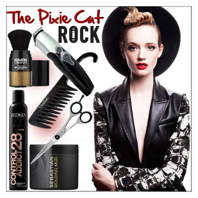 The Pixie Cut! by whirlypath on Polyvore featuring beauty