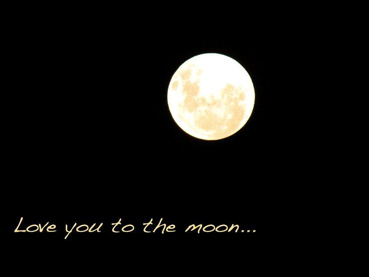 Full moon Wellington New Zealand May 2012