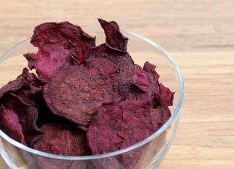 Beet Chips - dehydrator