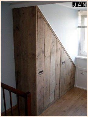 25 beste idee n over badkamer onder de trap op pinterest kelder indeling toilet beneden en - Handige trap ...