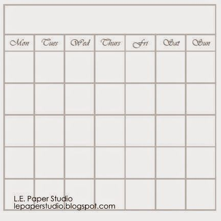 L.E. Paper Studio: Free DIY Planner Printables and Mini Album Tutorial