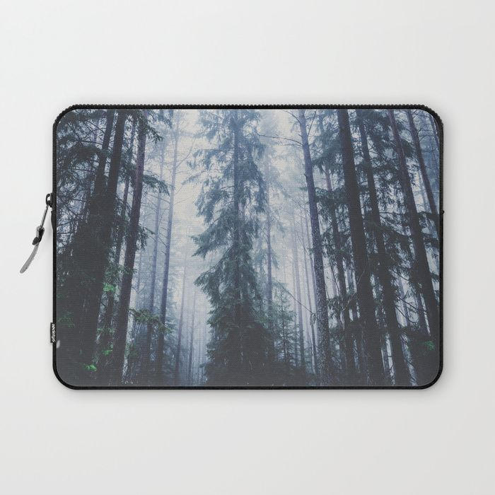 The mighty pines Laptop Sleeve by HappyMelvin. #laptops #nature #wanderlust #forest #laptopsleeve