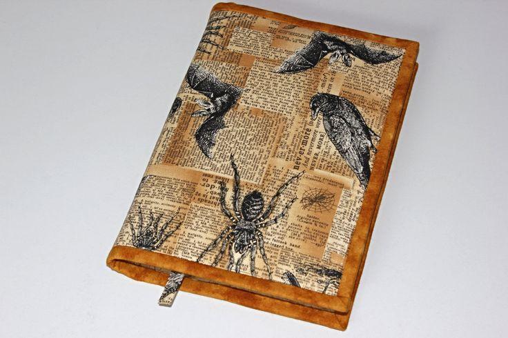 Obal na knihu nebo diář Pavouci a netopýři