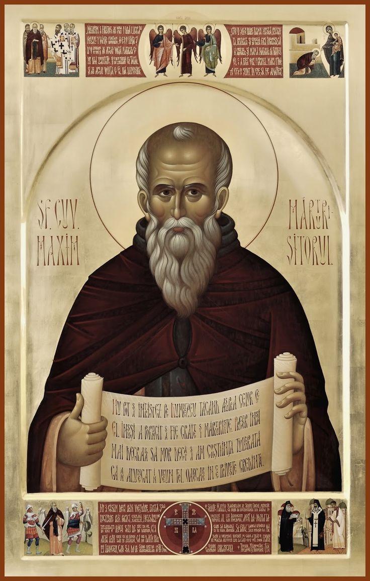St. Maximos (Maximus) the Confessor More icons: http://whispersofanimmortalist.blogspot.com/2015/04/icons-of-venerables-i.html