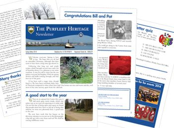 Newsletter for local Heritage Centre