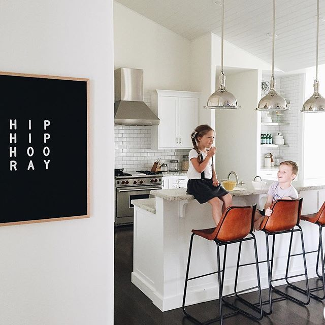 Hooray for this kitchen and the return of daylight-freaking-savings. : @jessiepennington