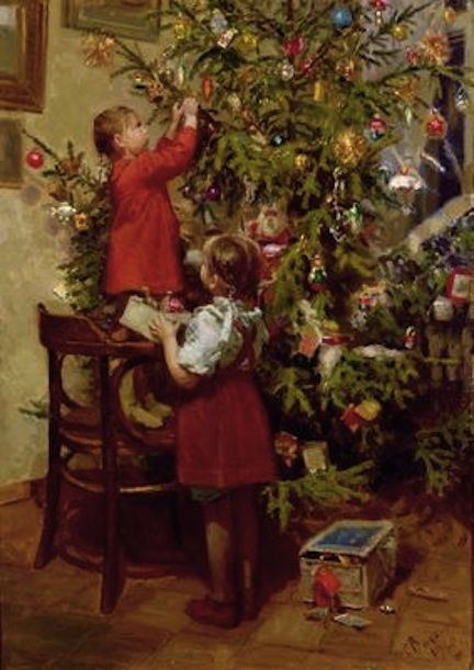 December- Growing up, decorating the tree and the house was always my favorite! It's when all the excitement for Christmas officially begins!: