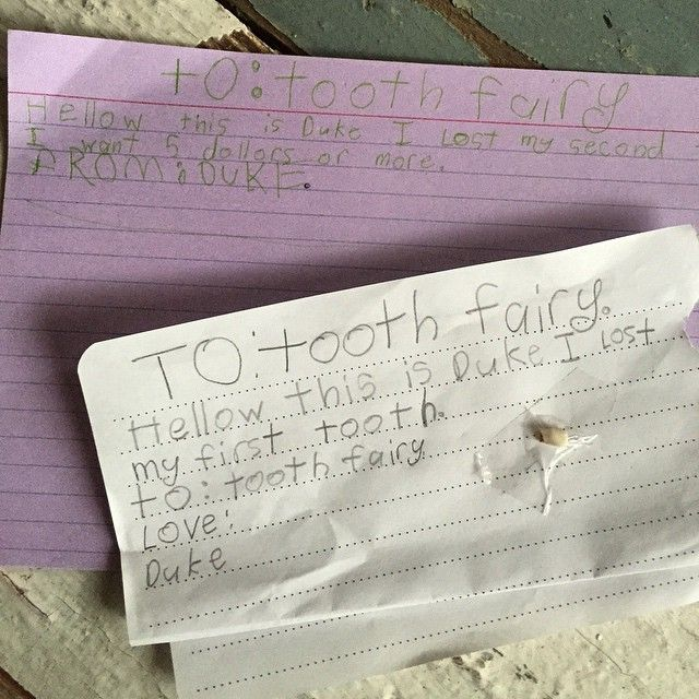 """""""Wait. Now he's negotiating with the tooth fairy?? #hellowagain"""""""