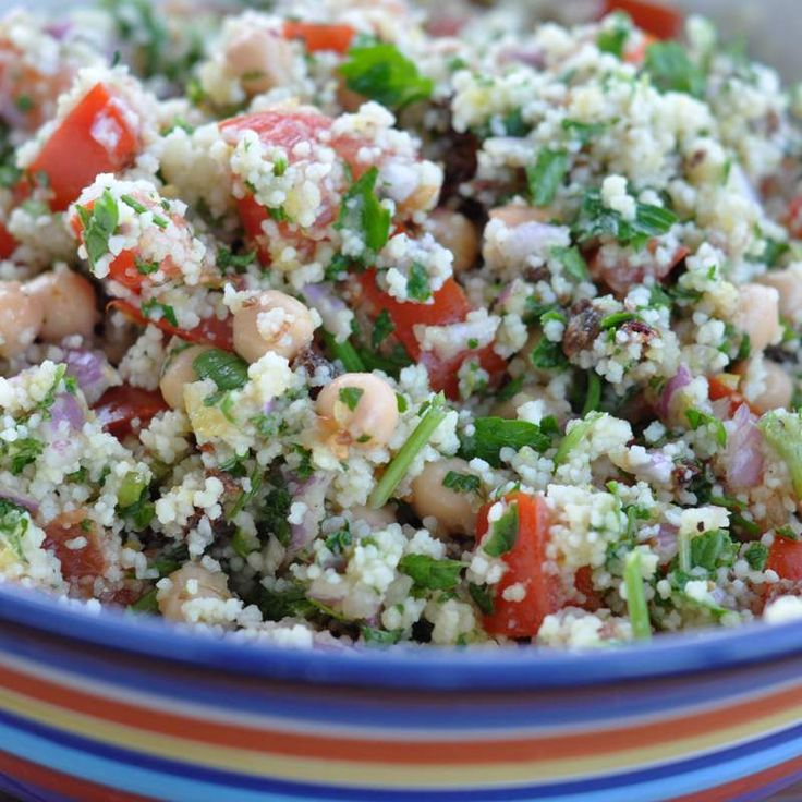 Recipe Cous Cous Salad by emilyteds - Recipe of category Side dishes