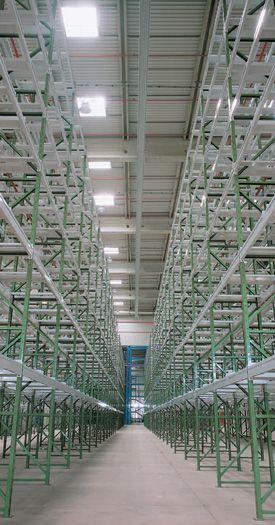 scaffalatura industriale portapallet