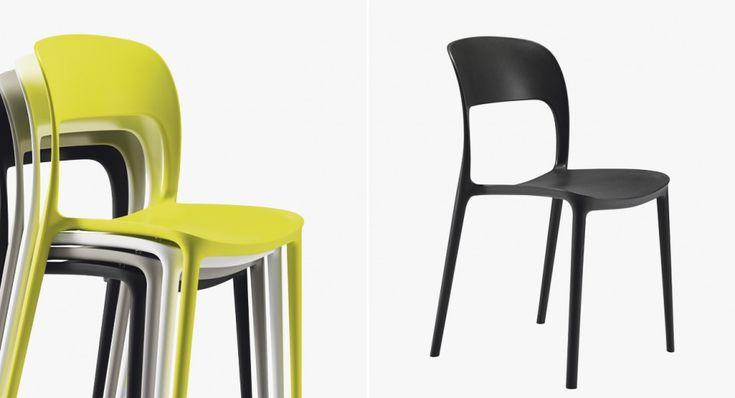 Les 25 meilleures id es concernant chaise empilable sur - Chaises empilables design ...