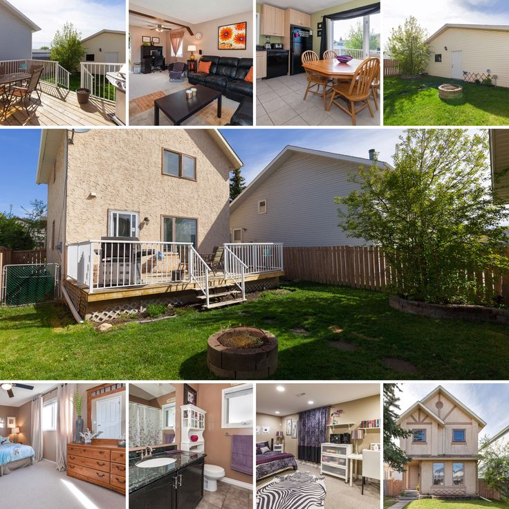 181 Taradale Dr. NE $387,900 - MLS C4117123 Soak up the sun on your recently rebuilt deck with low maintenance aluminum railing or...set up the padding pool in the spacious back yard. Don't forget the marsh mellows...because once the sun goes down...your going to want to enjoy the embers at the fire pit.