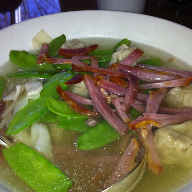 Won Ton Soup at Tao Tao in Sunnyvale, CA. A must go!