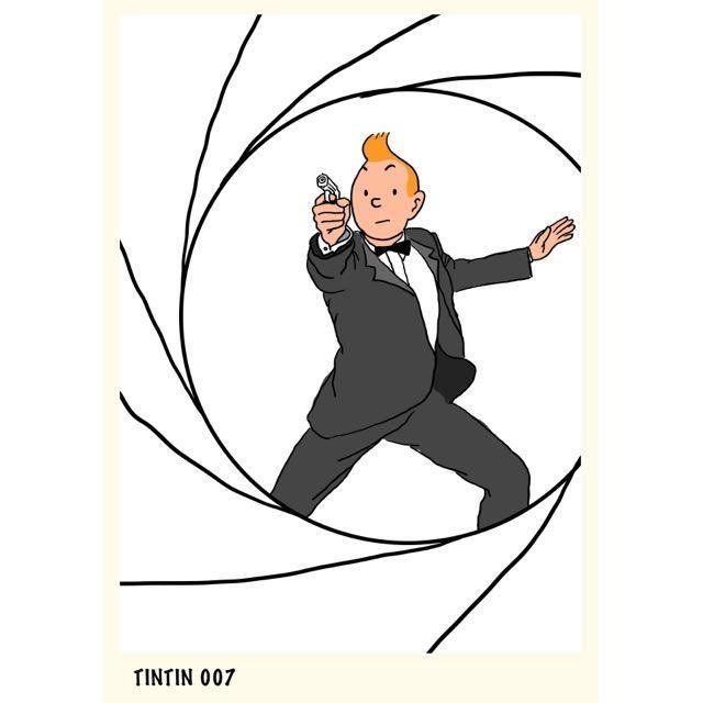 The name is Tin... Tintin.
