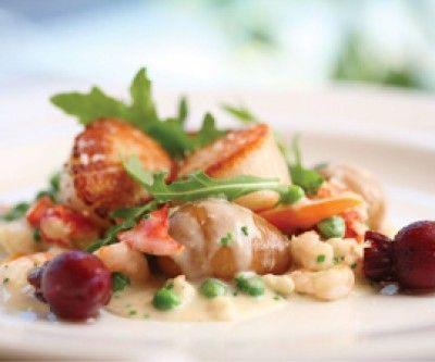 Saltscapes Food & Drink - Hodge Podge with Fresh Nova Scotia Shellfish by Chef Craig Finn - www.saltscapes.com
