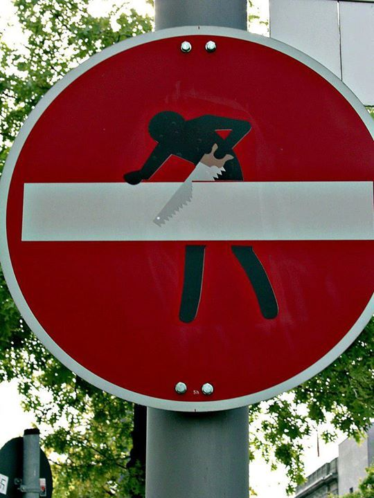 Artist: CLET City: Berlin 165920_477529872257921_1343525181_n.jpg (540×720)