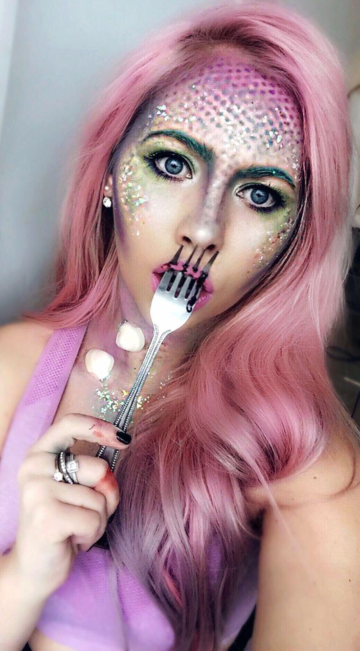 11 best Make-up/ Work images on Pinterest | Lilac hair, Mermaid ...