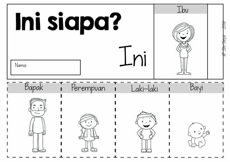 Indonesian Family words Flip book https://www.teacherspayteachers.com/Product/Keluarga-Family-Colour-BLM-Pack-Bahasa-Indonesia-2636066