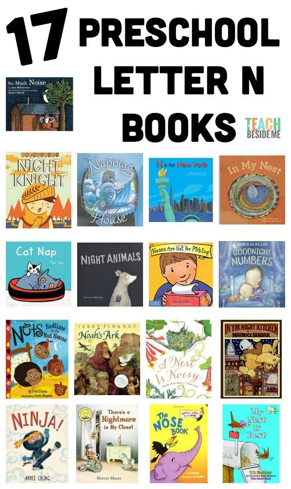 17 Preschool Letter N Books for letter of the week preschool themes