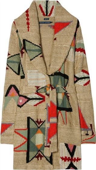 beautiful: Ralph Lauren, Patchwork Shawl, Fashion Knitwear, Jackets, Winter Sweaters, Fall Sweaters, Sweaters Coats, Southwest Style, Shawl Coats