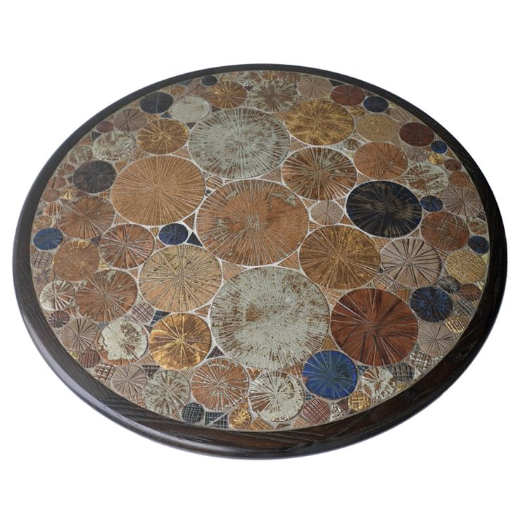 1stdibs | Tue Poulsen Ceramic Art Coffee Table Denmark 1963