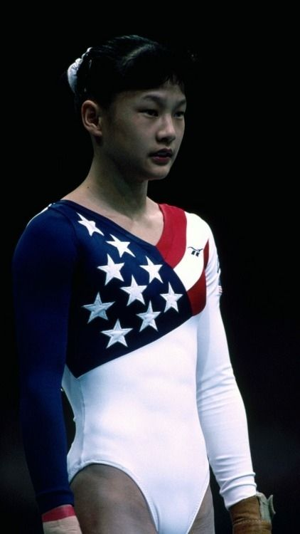 Amy Chow then: 18-years-old | Where Are They Now: The 1996 US Gymnastics Team
