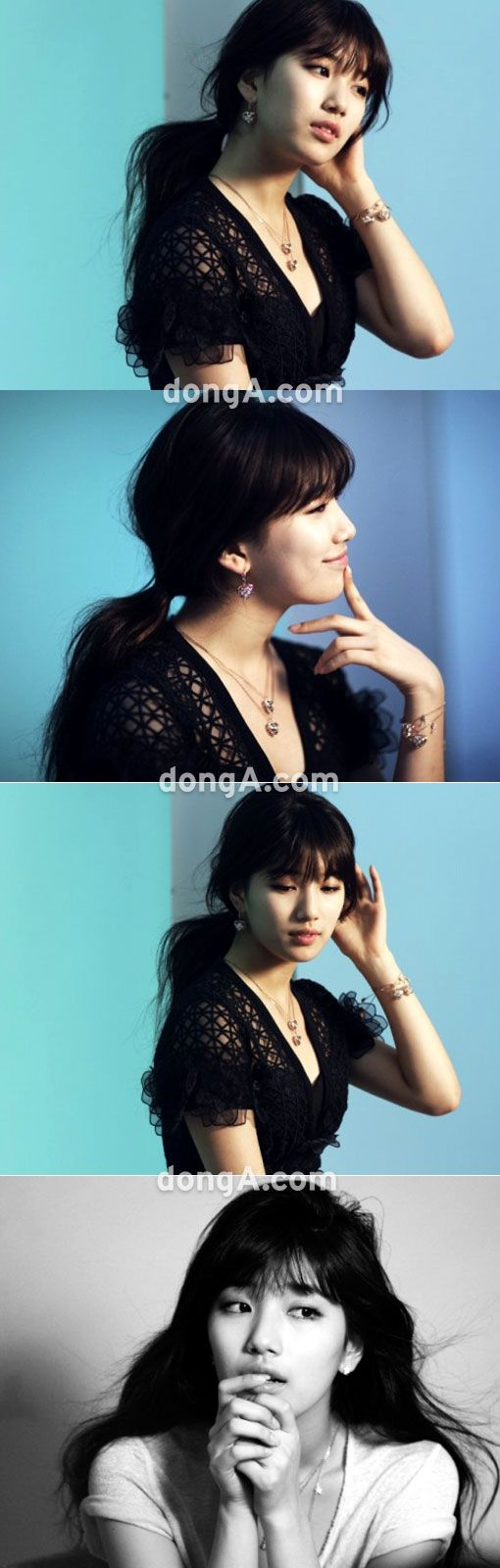 without doubt...the hottest celeb in Korea these days...Suzy!