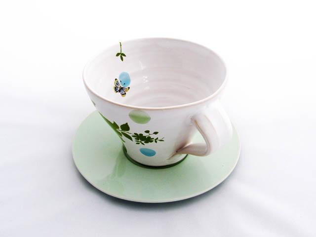 Heidi Hirengen webshop - Kaffekopp med fat cups decals ceramics