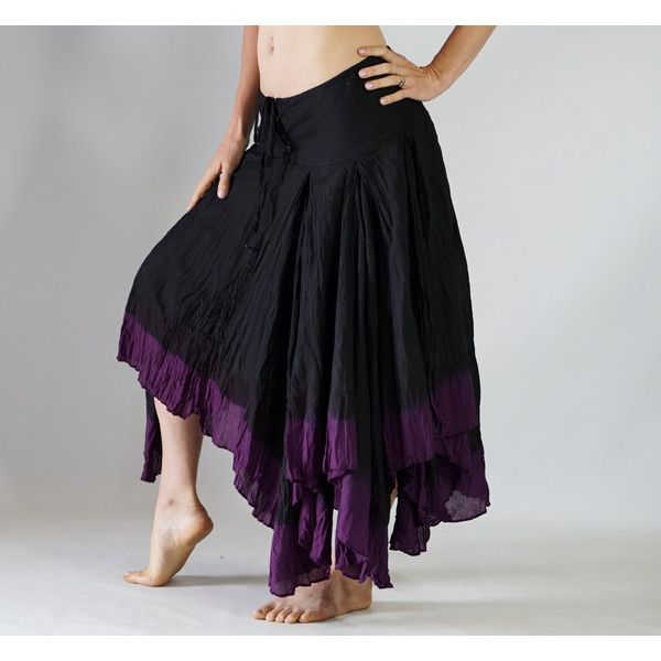 Ombre Skirt Pirate Gypsy Fairy Peasant Renaissance Belly Dancing... (£35) ❤ liked on Polyvore featuring skirts, dark olive, women's clothing, belly dance skirt, long drawstring skirt, peasant skirt, renaissance skirt and long skirts
