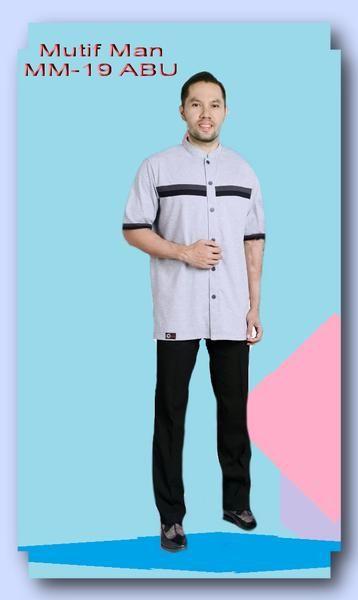 Jual beli Baju Kemeja Pria Mutif Man MM-19 Abu di Lapak Aprilia Wati - agenbajumuslim. Menjual Kemeja - Kemeja Pria Mutif Man MM-19 Abu  Kode :   MM-19 Abu   Pilihan Warna:  Abu  SIZE : S, M, L, Xl, XXL Harga : Rp 190.000,- (XXL : Rp. 203.000,-)
