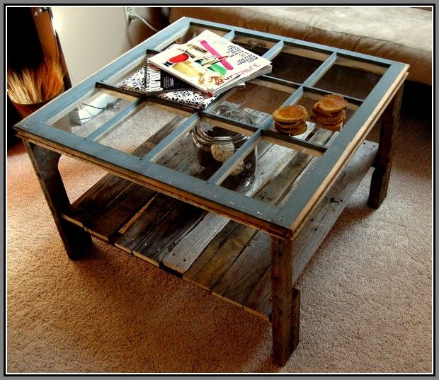 Pallet Coffee Table And End Tables