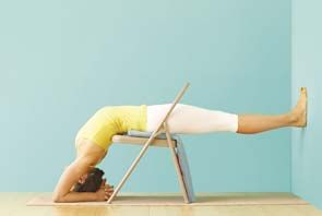 264 best images about iyengar yoga chair on pinterest