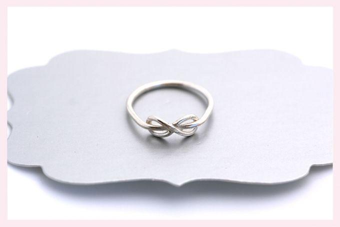 Silver Infinity Ring by Janine Binneman Jewellery Design on hellopretty.co.za