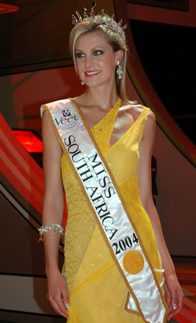 Miss South Africa 2004 Claudia Henkel