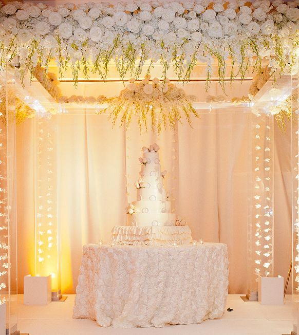 Stylish Wedding Cake Table Ideas