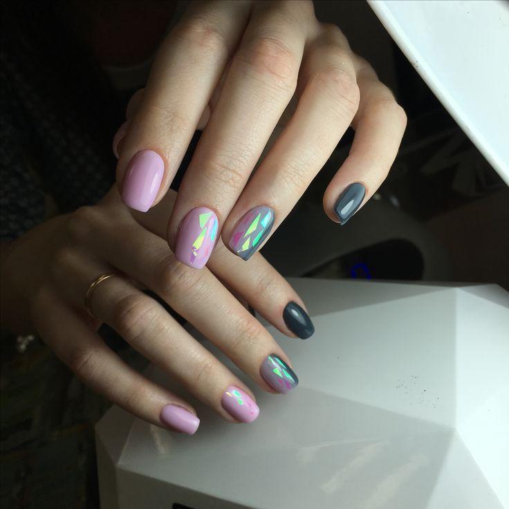 ✨«Pika pika» ✨вертикальный градиент и розовое битое стекло #ногти #ногтиекатеринбург #битоестекло #битоестеклонаногтях #градиент #градиентнаногтях #омбре #омбреногти #омбренаногтях #екатеринбург #екатеринбургногти