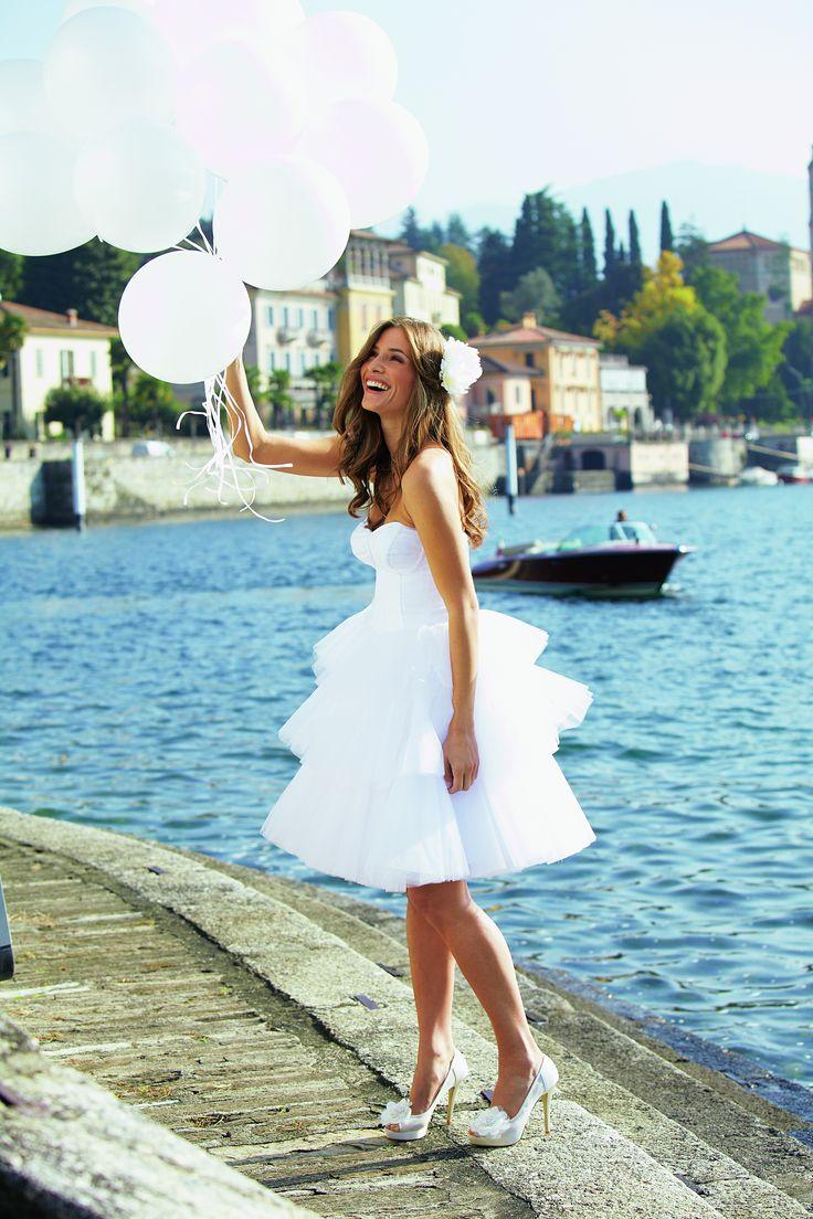 49 best ROM Dress / Short Wedding Dresses images on Pinterest ...