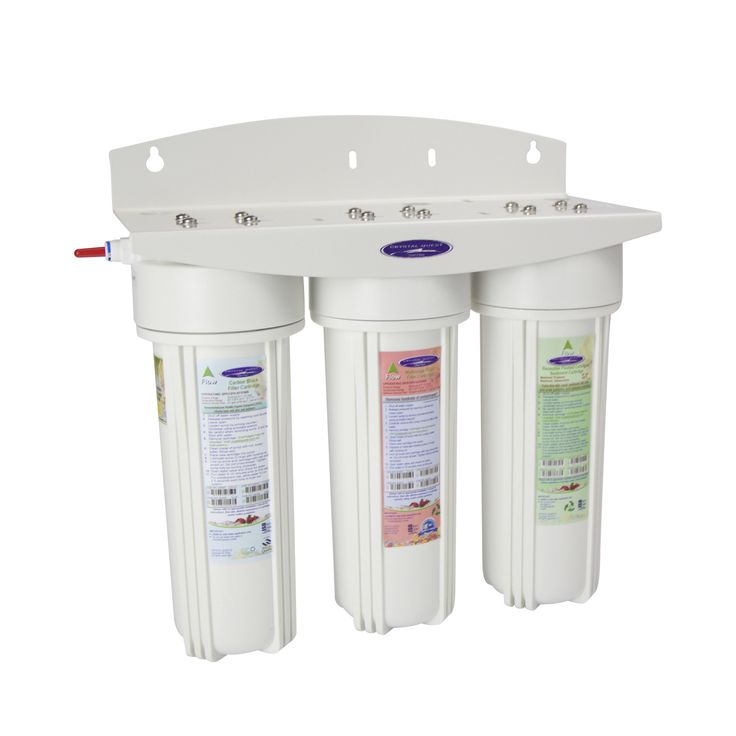 Commercial Triple Inline Water Filter