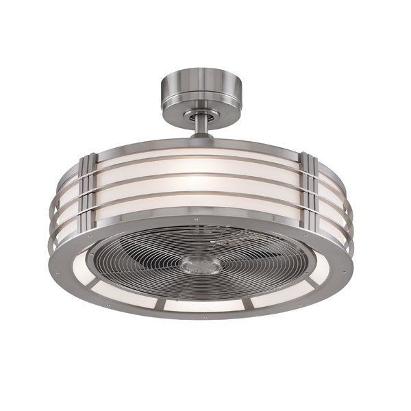 Effortlessly cool down any space with this essential ceiling fan, perfect in the kitchen or den.