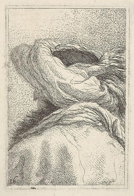 Man in a turban, Giovanni domenico Tiepolo 1770
