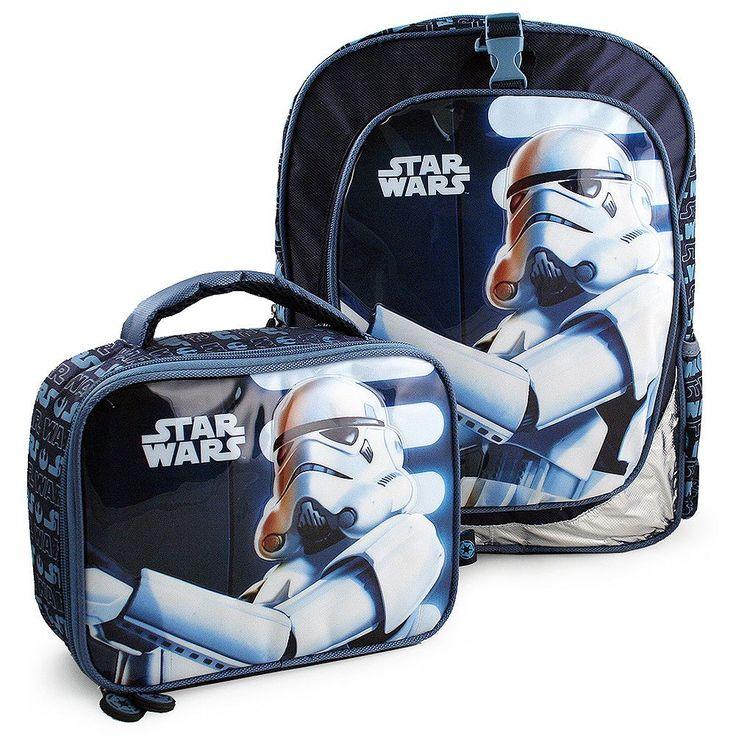 Heys Star Wars Deluxe Backpack and Lunch Bag Set [Stormtrooper]