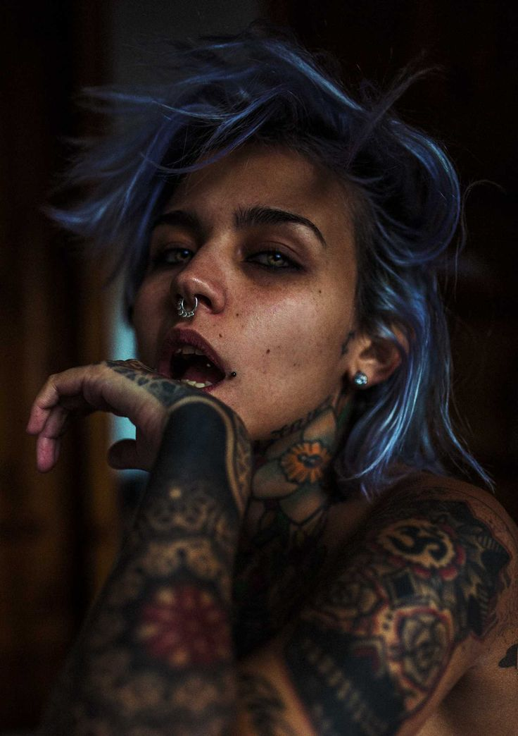Glamour and Dark Beauty Portrait Photography by Haris Nukem #inspiration #photography