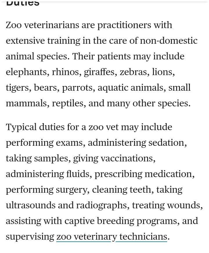 85 best Zoo Veterinarian (My Dream Job) images on Pinterest Zoo - veterinarian job description