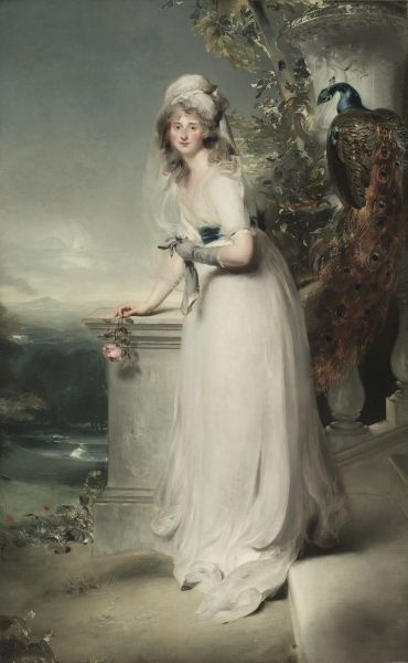1794 Catherine Grey, Lady Manners by Sir Thomas Lawrence (Cleveland Museum of Art - Cleveland, Ohio USA)
