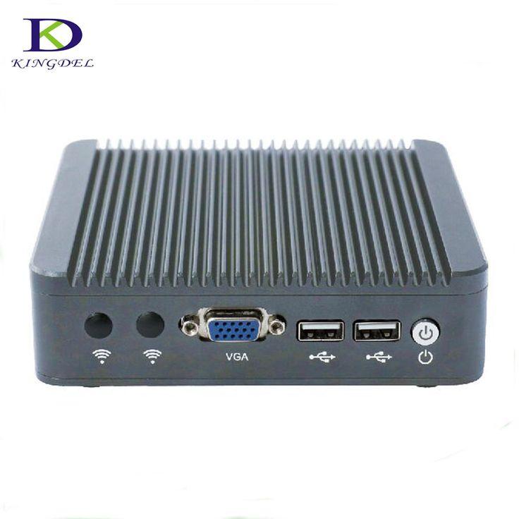 Dual Core thin client mini computer Celeron J1800 VAG Fanless with Win7 OS 2*USB2.0  2.41up to 2.58 GHz TV box desktop Mini PC  #Affiliate